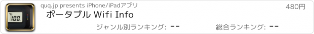 おすすめアプリ ポータブル Wifi Info