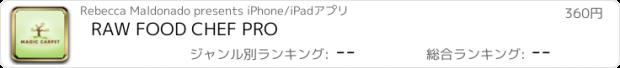 おすすめアプリ RAW FOOD CHEF PRO