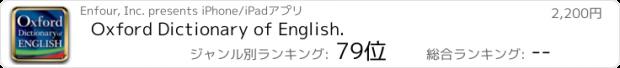 おすすめアプリ オックスフォード英英辞典 (ODE)