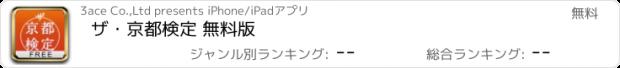 おすすめアプリ ザ・京都検定 無料版