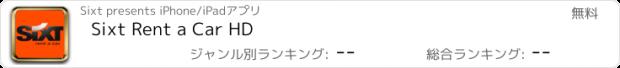 おすすめアプリ Sixt Rent a Car HD