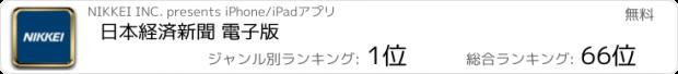 おすすめアプリ 日本経済新聞 電子版
