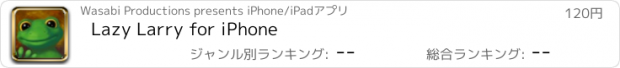 おすすめアプリ Lazy Larry for iPhone