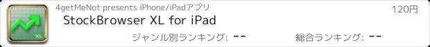 おすすめアプリ StockBrowser XL for iPad