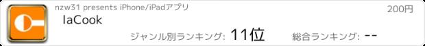 """おすすめアプリ laCook(調味""""量""""換算)"""