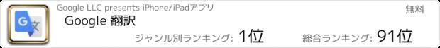 おすすめアプリ Google 翻訳