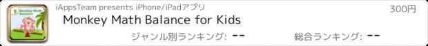 おすすめアプリ Monkey Math Balance for Kids