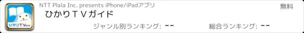 おすすめアプリ ひかりTVガイド