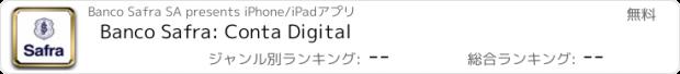 おすすめアプリ Safra: conta com investimento
