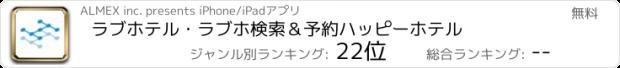 おすすめアプリ ラブホテル・ラブホ検索&予約ハッピーホテル