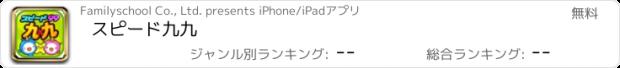 おすすめアプリ スピード九九