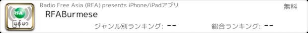 おすすめアプリ RFABurmese