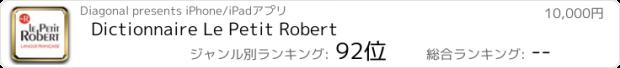 おすすめアプリ Dictionnaire Le Petit Robert