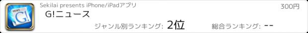 おすすめアプリ G!ニュース