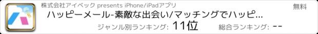 おすすめアプリ ハッピーメール-恋活・マッチングアプリ