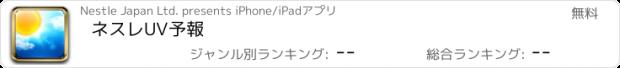 おすすめアプリ ネスレUV予報