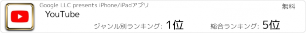 おすすめアプリ YouTube