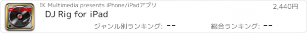 おすすめアプリ DJ Rig for iPad