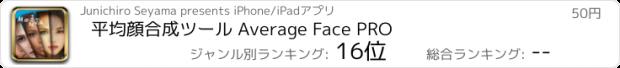 おすすめアプリ 平均顔合成ツール Average Face PRO