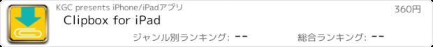 おすすめアプリ Clipbox for iPad