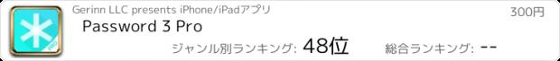 おすすめアプリ Password 3 Pro