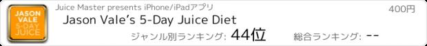 おすすめアプリ Jason Vale's 5-Day Juice Diet