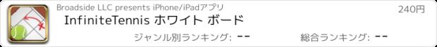 おすすめアプリ InfiniteTennis ホワイト ボード