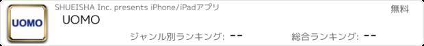 おすすめアプリ UOMO