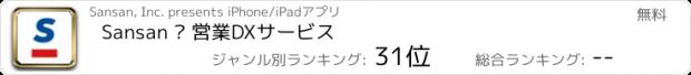 おすすめアプリ Sansan – 法人向け名刺管理サービス