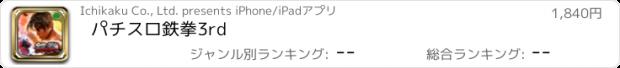 おすすめアプリ パチスロ鉄拳3rd