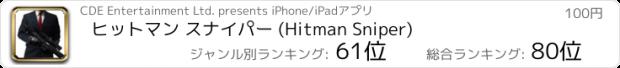 おすすめアプリ Hitman Sniper (ヒットマン スナイパー)