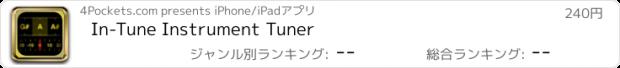 おすすめアプリ In-Tune Instrument Tuner