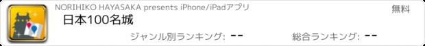 おすすめアプリ 日本100名城