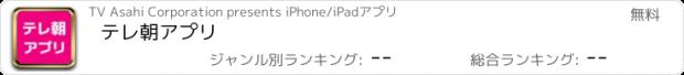 おすすめアプリ テレ朝アプリ