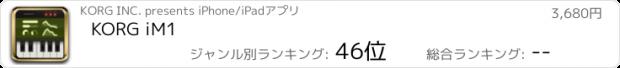 おすすめアプリ KORG iM1