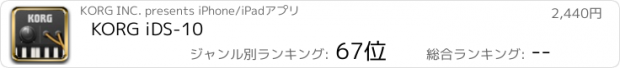 おすすめアプリ KORG iDS-10